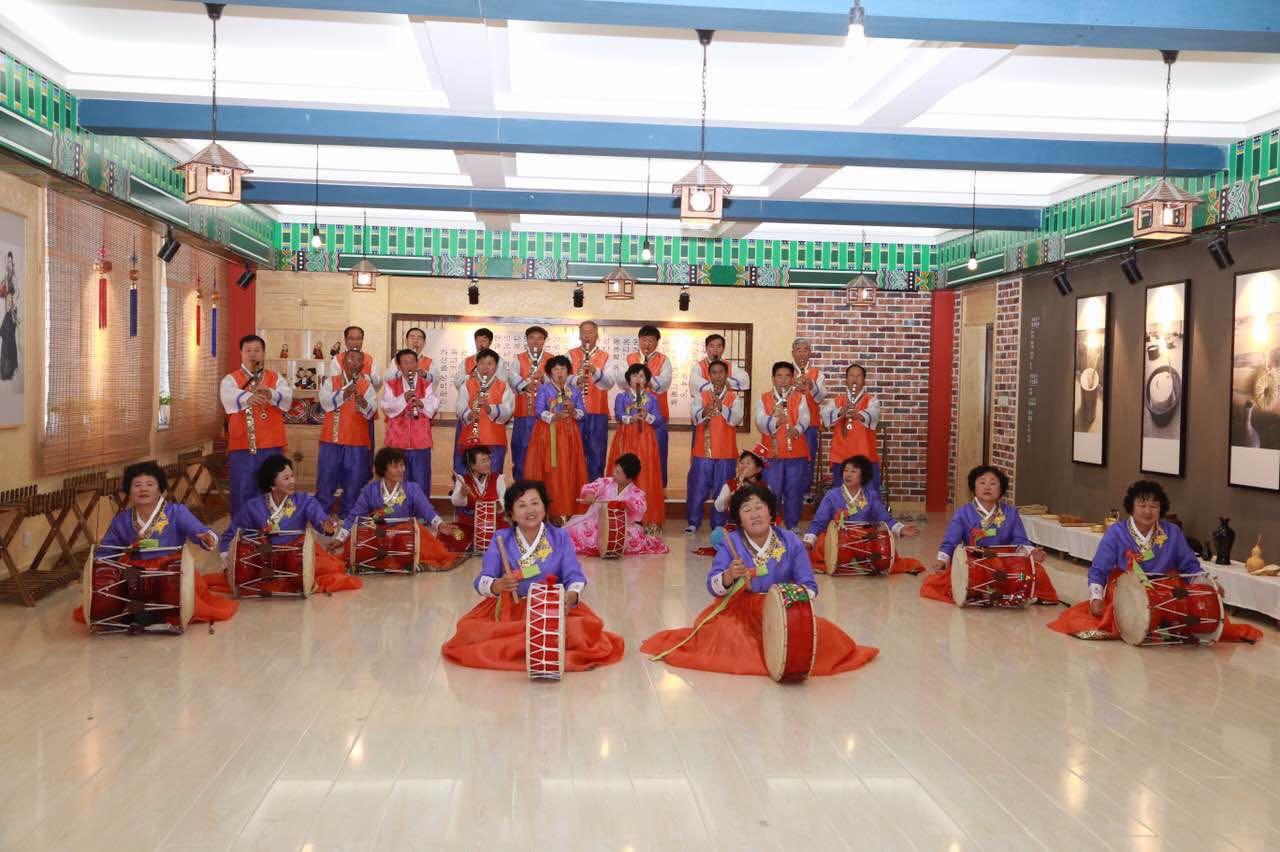 吉林省朝鲜语言方言文化典藏调研团队走进珲春