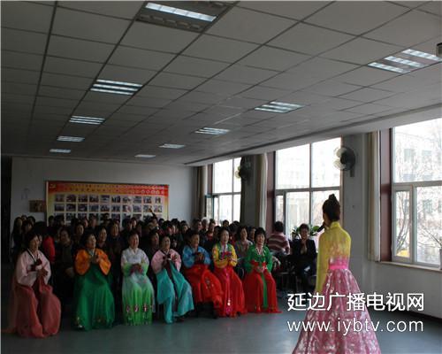 延吉市朝鲜族艺术团走进延青社区_延边广播电