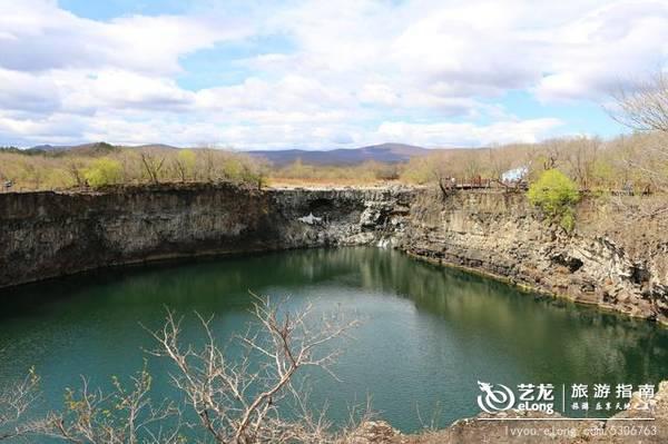 镜泊湖吊水楼瀑布,中国北方最壮观的熔岩塌陷瀑布