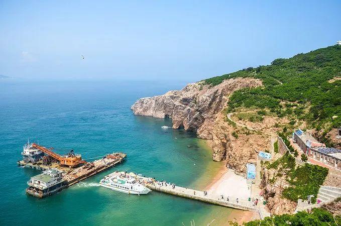 沉静的小渔村,美丽的有海岛风光,都在诉说着海滨城市的魅力.图片