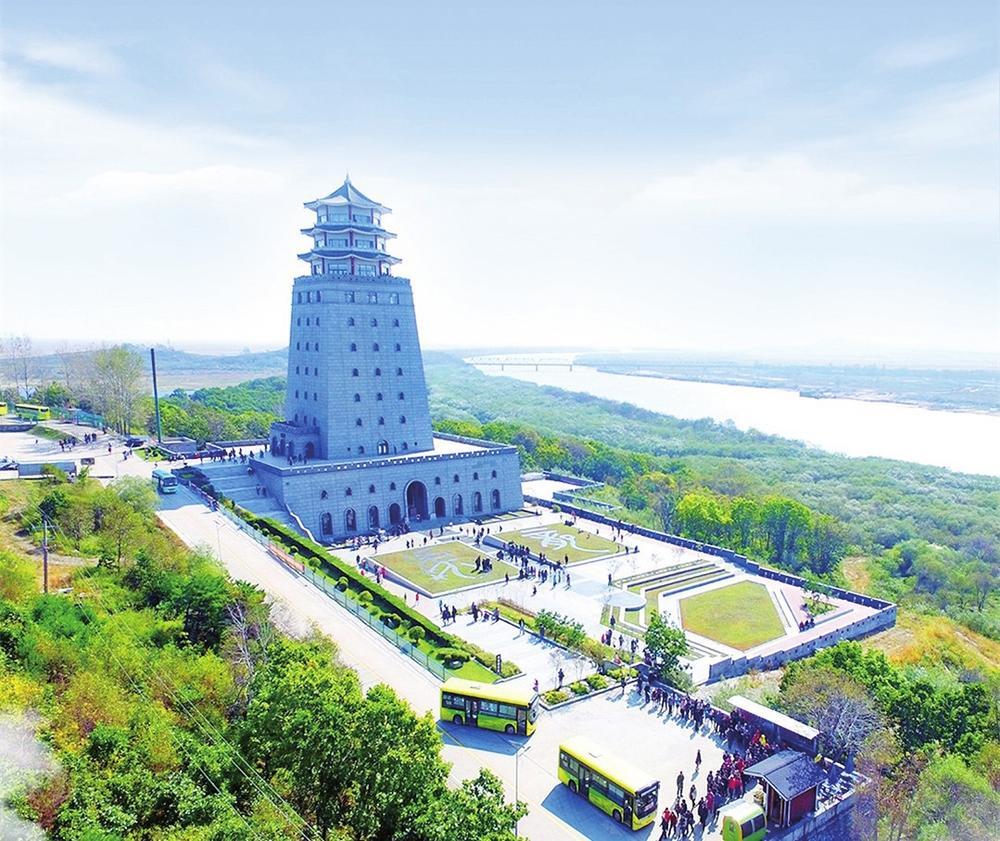 大美吉林之珲春防川风景区 张明 摄