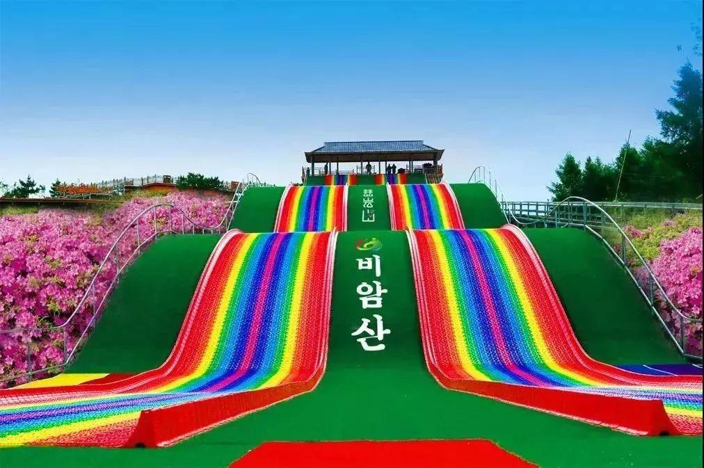 龙井琵岩山风景区七彩速滑项目因维修保养,即日起至3月16日停业.