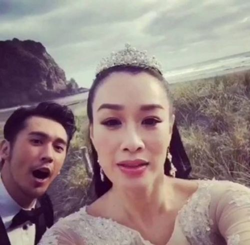 종려시가 결혼했다. © News1star/ 종려시 웨이보